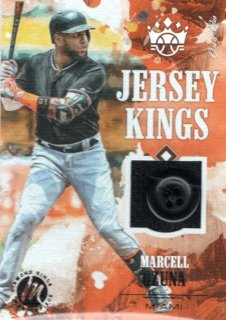 TOPPS 2018 DIAMOND KINGS Jersey Kings Marcell Ozuna 【1OF1】 / MINT吉祥寺店 KAZU42様