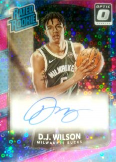 2017-18 Panini Donruss Optic Rated Rookie Signatures Pink D.J. Wilson【20枚限定】ミント札幌店 B・B様