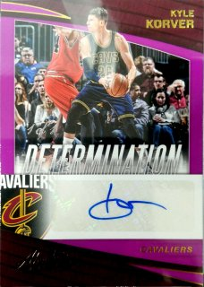 2017-18 Panini Absolute Determination Autographs Kyle Korver Lever5【1枚限定】ミント札幌店 B・B様