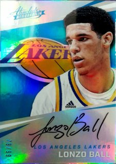 2017-18 Panini Absolute Rookie Autographs Lonzo Ball【99枚限定】ミント札幌店 B・B様