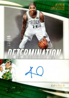 2017-18 Panini Absolute Determination Autographs Kyrie Irving Lever2【15枚限定】ミント札幌店 B・B様