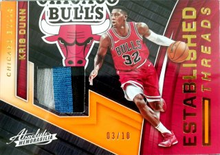 2017-18 Panini Absolute Established Threads Prime Kris Dunn【10枚限定】ミント札幌店 B・B様