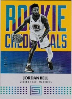 17/18 PANINI STATUS ROOKIE CREDENTIALS GOLD Jordan Bell【10枚限定】/MATCHUP V 様