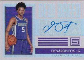 17/18 PANINI STATUS NEW BREED De'Aaron Fox /MATCHUP GP 様