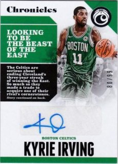 17/18 PANINI CHRONICLES AUTOGRAPHS Kyrie Irving【99枚限定】/MATCHUP 飛馬 様