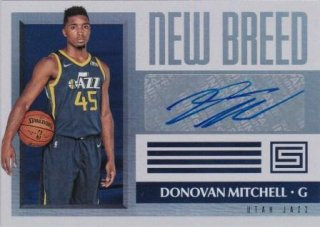 17/18 PANINI STATUS NEW BREED Donovan Mitchell /MATCHUP V 様
