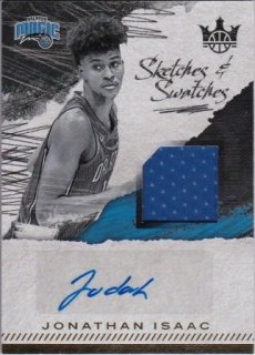 17/18 PANINI COURT KINGS SKETCHES AND SWATCHES Jonthan Isaac【399枚限定】/MATCHUP 飛馬 様