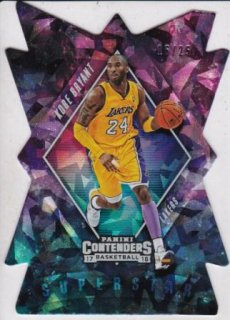 17/18 PANINI PLAYOFF CONTENDERS SUPERSTAR DIE-CUTS CRACKED ICE Kobe Bryant【25枚限定】/MATCHUP V 様