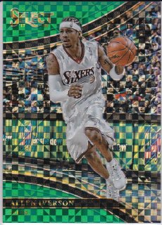 17/18 PANINI SELECT COURTSIDE GREEN PRIZMS Allen Iverson【5枚限定】/MATCHUP V 様