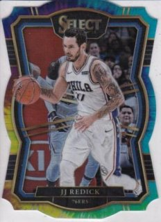 17/18 PANINI SELECT BASE PREMIER LEVEL TIE-DIE PRIZM DIE-CUT JJ Redick【25枚限定】/MATCHUP 2 様