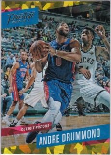17/18 PANINI PRESTIGE BASE CRYSTAL GOLD Andre Drummond【10枚限定】/MATCHUP 名人 様