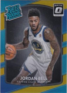 17/18 PANINI DONRUSS OPTIC RATED ROOKIES GOLD Jordan Bell【10枚限定】/MATCHUP GP 様