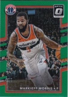 17/18 PANINI DONRUSS OPTIC BASE GREEN Markieff Morris【5枚限定】/MATCHUP V 様