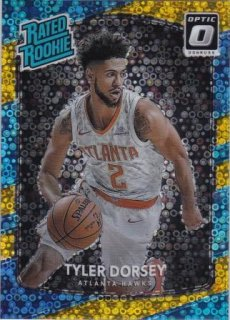 17/18 PANINI DONRUSS OPTIC RATED ROOKIES FAST BREAK GOLD Tyler Dorsey【10枚限定】/MATCHUP RMHK 様