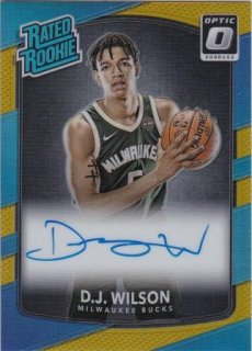 17/18 PANINI DONRUSS OPTIC RATED ROOKIES SIGNATURES GOLD D.J.Wilson【10枚限定】/MATCHUP BB 様