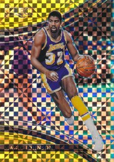 2017-18 PANINI SELECT Gold Prizm Magic Johnson 【10枚限定】Rookie Star RS9様