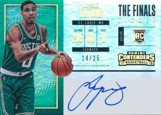 2017-18 PANINI CONTENDERS RC Auto Jayson Tatum 【25枚限定】Rookie Star RS16様
