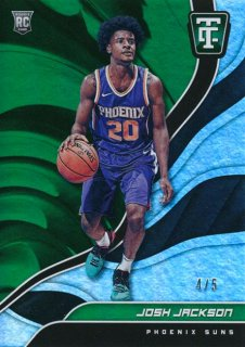 2017-18 PANINI TOTALLY CERTIFIED RC Green Parallel Josh Jackson 【5枚限定】Rookie Star RS23様