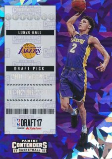 2017-18 PANINI CONTENDERS RC Cracked Ice Lonzo Ball 【25枚限定】Rookie Star RS54様