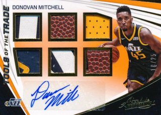 2017-18 PANINI ABSOLUTE RC Patch Auto Donovan Mitchell 25枚限定Rookie Star RS57様