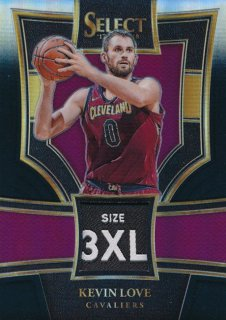 2017-18 PANINI SELECT Black Prizm Patch Kevin Love 【1枚限定】Rookie Star RS60様