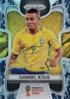 2018 Prizm World Cup Camo Gabriel Jesus 【20枚限定】 / MINT吉祥寺店 ぶらじる様