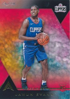 2017-18 PANINI ASCENSION RC Black Parallel Jawun Evans 【1枚限定】Rookie Star RS99様