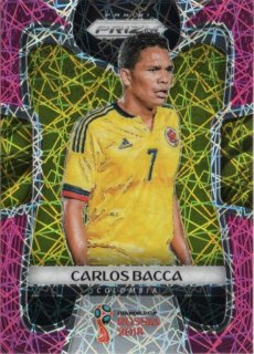 2018 Panini Prizm World Cup Soccer Pink Lazer Parallel Carlos Bacca【40枚限定】MINT梅田店 マテウス様