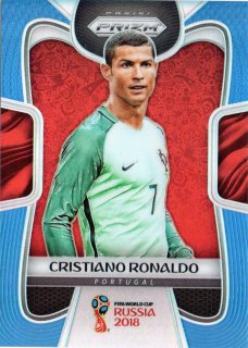 2018 Panini Prizm World Cup Soccer Blue Parallel Cristiano Ronaldo【199枚限定】MINT梅田店 コミ様