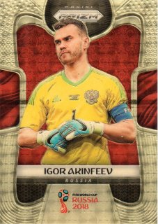 2018 Panini Prizm World Cup Gold Power Parallel Igor Akinfeev【5枚限定】MINT梅田店 E.D. Styles様