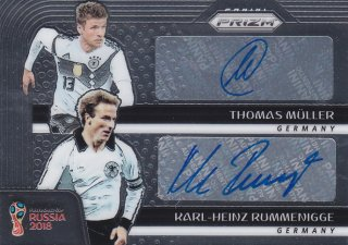 2018 Panini Prizm World Cup Dual Signatures Rummenigge&Thomas Muller【25枚限定】/MINT浦和店 浦和のうさぎちゃん