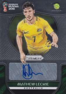 2018 Panini Prizm World Cup Signatures Mathew Leckie/MINT浦和店 浦和のうさぎちゃん