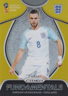 2018 Panini Prizm World Cup Fundamental Gold Prizm Jordan Henderson【10枚限定】/MINT浦和店 浦和のうさぎちゃん