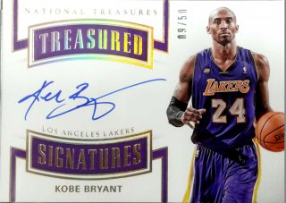 2017-18 Panini National Treasure Treasured Signatures Kobe Bryant【50枚限定】ミント札幌店 カビー様