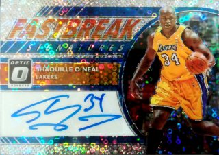 2017-18 Panini Fast Break Fast Break Signatures Shaquille O'Neal ミント札幌店 ノリア様