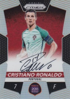 2018 Prizm World Cup Road to the World Cup Autograph Cristiano Ronaldo【99枚限定】 / MINT浦和店 クリリン様