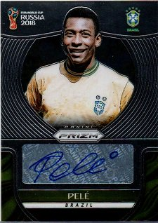 2018 PANINI Prizm World Cup Signatures PELE【Short Print:1:19 cases】 / MINT横浜店 よしかん様