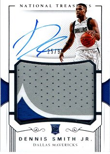 2017-18 PANINI National Treasures Rookie Patch Auto DENNIS SMITH Jr.【99枚限定】 / MINT横浜店 8moto007様