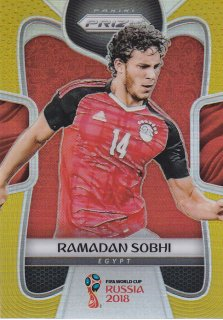 2018 Prizm World Cup Gold Prizm Parallel Ramadan Sobhi【10枚限定】 / MINT浦和店 武豊様