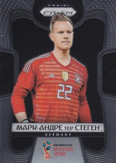 2018 Prizm World Cup Cyrillic Text. variation Marc-Andre ter Stegen/ MINT浦和店 武豊様
