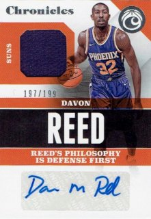 2017-18 PANINI CHRONICLES Signature Swatches Davon Reed【199枚限定】/ MINT立川店 ハイド様