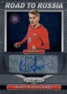 2018 Prizm World Cup Road To Russia Signatures Martin Odegaard / MINT池袋店 ラーム様