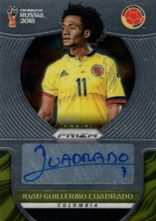 2018 Prizm World Cup Signatures Juan Guillermo Cuadrado / MINT池袋店 小谷様