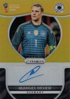 2018 Prizm World Cup Gold Parallel Signatures Manuel Neuer 【10枚限定】 / MINT池袋店 クマ様