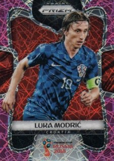 2018 Prizm World Cup Pink Lazer Parallel Base Luka Modric 【40枚限定】 / MINT池袋店 ST様