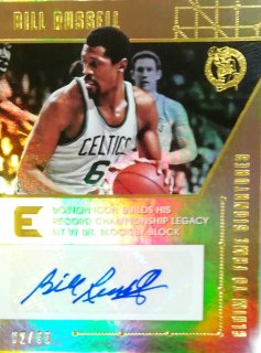 2017-18 Panini Essentials Claim to Fame Signatures Bill Russell 【99枚限定】ミント札幌店 カビー様
