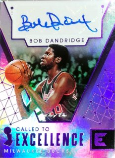 2017-18 Panini Essentials Called to Excellence Autographs Purple Bob Dandridge【1枚限定】ミント札幌店 カビー様