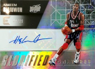 2017-18 Panini Essentials Glorified Signatures Hakeem Olajuwon Silver【25枚限定】ミント札幌店 カビー様