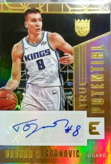 2017-18 Panini Essentials True Potential Signatures Bogdan Bogdanovic【49枚限定】ミント札幌店 カビー様