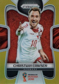 2018 Prizm World Cup Gold Parallel Base Christian Eriksen 【10枚限定】 / MINT吉祥寺店 イエティ様